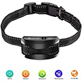 LS Anti Bark Collar [2019 Upgrade], Stop Dog Barking Training Collar, Rechargeable/Rainproof/Reflective, 7 Sensitivity, Beep/Vibration/Safe for Large, Medium, Small Dogs