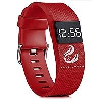 腕時計 Yeefant メンズ レディース腕時計 LEDウォッチ 時計 デジタル ファッション カジュアル ビジネス 生活防水 クラシック ウォッチ デジタル表示 電子運動 ウォッチ