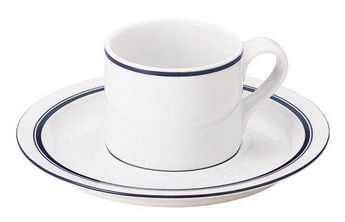 DANSK ダンスク ビストロ コーヒーカップ&ソーサー 180ml 電子レンジ・オーブン・食洗器対応 TH07370CL