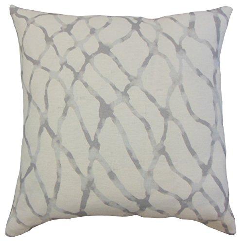 The枕コレクションp18flat-pt-netscape-stone-l100enniseグラフィックスロー枕カバー、18