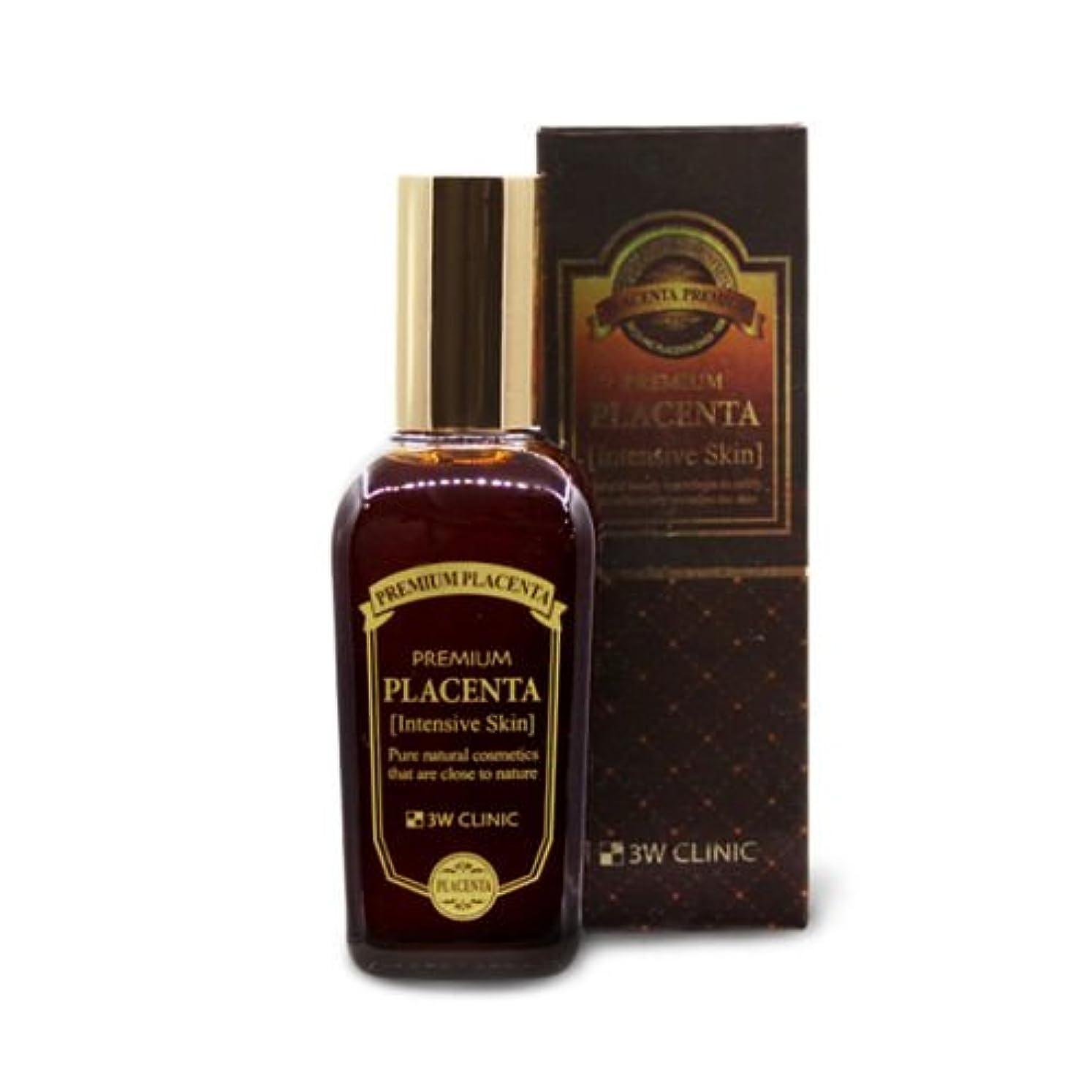 フェリー星飢3Wクリニック[韓国コスメ3w Clinic]Premium Placenta Intensive Skin プレミアムプラセンタインテンシブスキン145ml[並行輸入品]