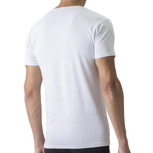 『セーレン デオエスト 消臭アンダーシャツ・ウォーム(丸首・半袖) ホワイト L』の1枚目の画像