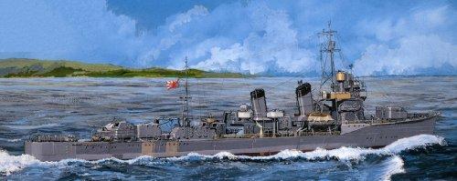 ピットロード 1/700 日本海軍 初春型駆逐艦 若葉 フルハル 新装備パーツ+エッチングパーツ付 SPW16