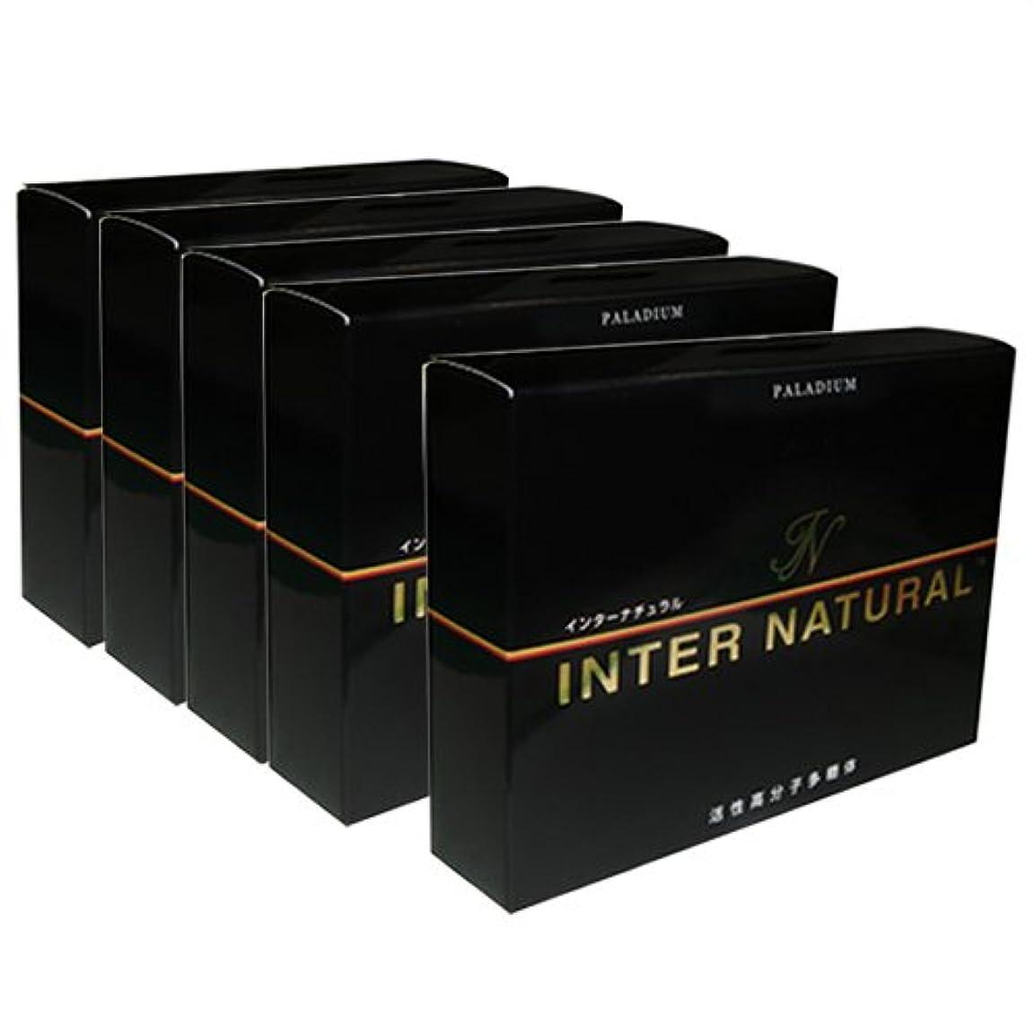 攻撃負荷壁紙インターナチュラル (INTER NATURAL) 30包 ×5個 セット