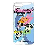 パワーパフガールズ iPhone8 Plus ケース クリア ハード プリント デザインE-A (ppg-021) スマホケース アイフォンエイト プラス スリム 薄型 カバー スマホカバー WN-LC409065