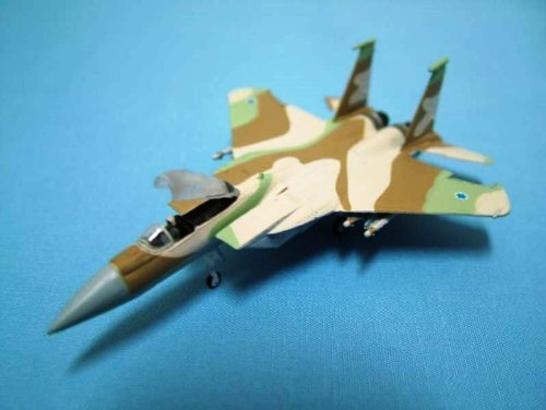 タカラ 海洋堂 ワールドウイングスミュージアム 1/200 模型 F-15 イーグル イスラエル空軍 F-15C 着陸状態 戦闘機 模型(※外箱難あり)