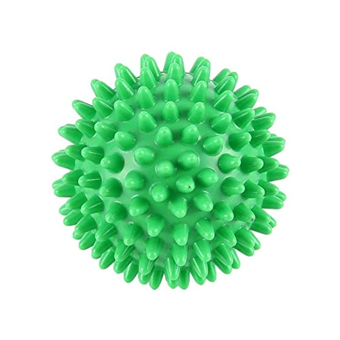 独特のアラームセマフォPVC先端のとがったマッサージボール足の痛みと足底筋膜炎除去剤ハリネズミボール(6cm)