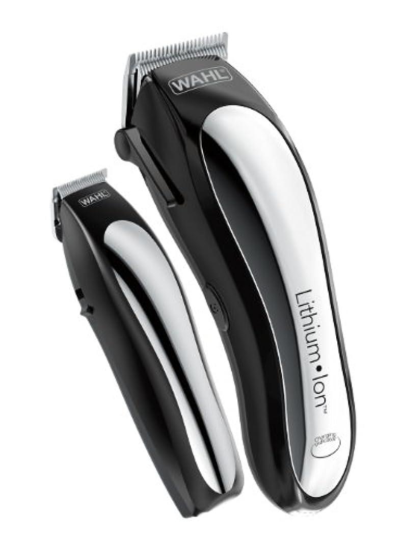インゲン苛性採用するWahl Clipper Lithium Ion Cordless Rechargeable Hair Clippers and Trimmers for men,Hair Cutting Kit with 10 Guide Combs... Wahl