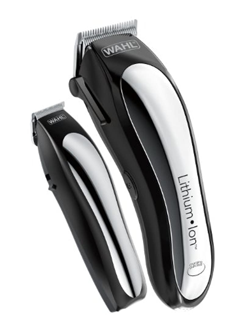 突然の恐ろしいです消化Wahl Clipper Lithium Ion Cordless Rechargeable Hair Clippers and Trimmers for men,Hair Cutting Kit with 10 Guide...