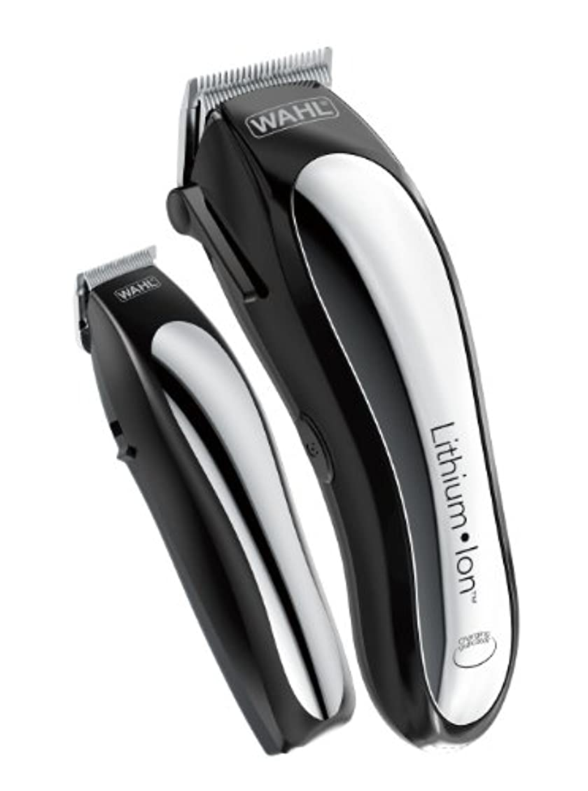 フィルタ世界的にグリーンバックWahl Clipper Lithium Ion Cordless Rechargeable Hair Clippers and Trimmers for men,Hair Cutting Kit with 10 Guide...
