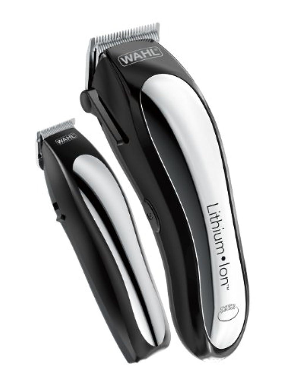 寮樹皮助言するWahl Clipper Lithium Ion Cordless Rechargeable Hair Clippers and Trimmers for men,Hair Cutting Kit with 10 Guide...