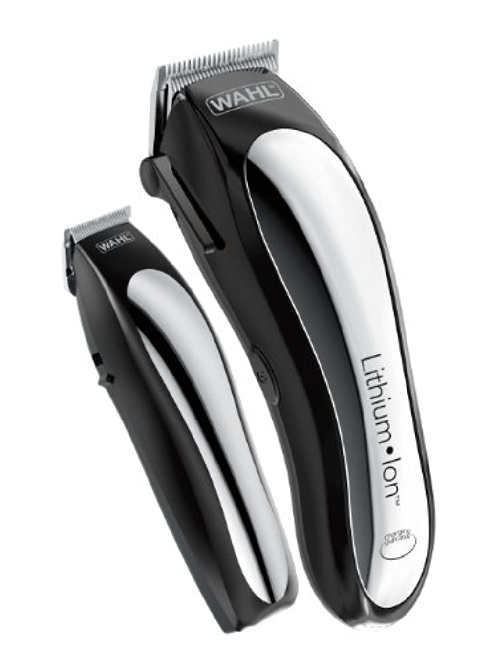 悪性より良い対角線Wahl Clipper Lithium Ion Cordless Rechargeable Hair Clippers and Trimmers for men,Hair Cutting Kit with 10 Guide...