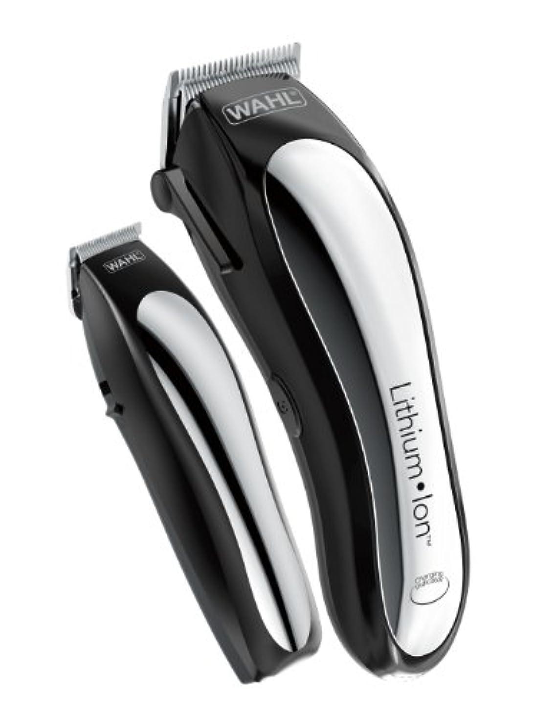 受け取るハブブ男やもめWahl Clipper Lithium Ion Cordless Rechargeable Hair Clippers and Trimmers for men,Hair Cutting Kit with 10 Guide...