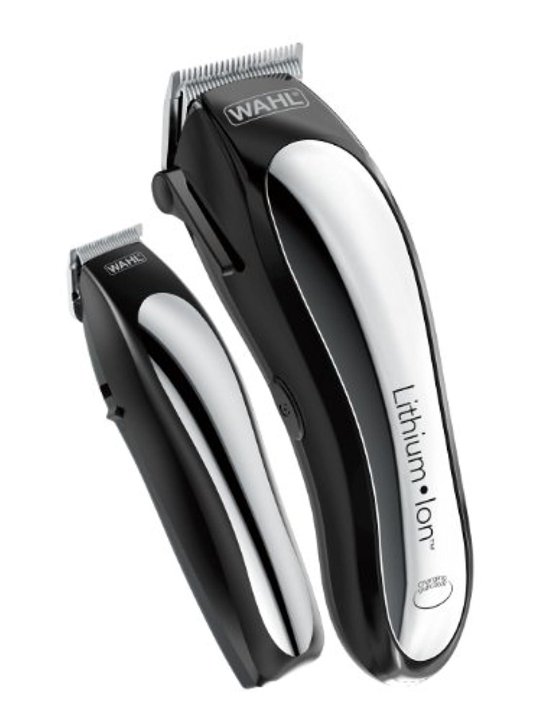 ピットニコチン。Wahl Clipper Lithium Ion Cordless Rechargeable Hair Clippers and Trimmers for men,Hair Cutting Kit with 10 Guide...