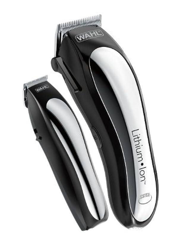 急流の配列タックルWahl Clipper Lithium Ion Cordless Rechargeable Hair Clippers and Trimmers for men,Hair Cutting Kit with 10 Guide...