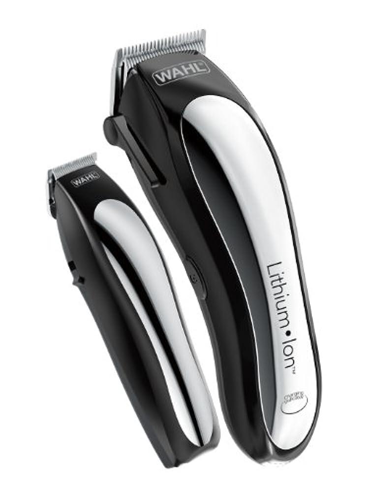 コジオスコポケット相互Wahl Clipper Lithium Ion Cordless Rechargeable Hair Clippers and Trimmers for men,Hair Cutting Kit with 10 Guide...