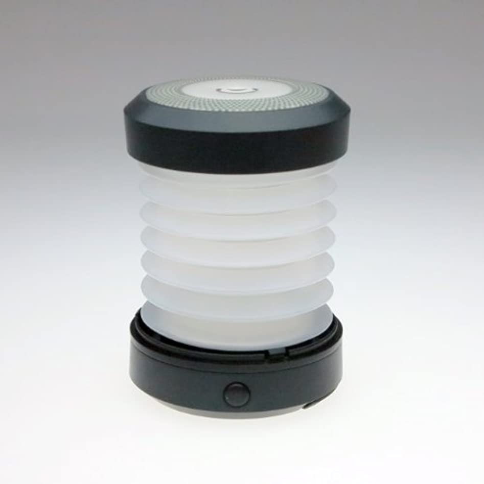 モード異形ギターELAICE(エレス) ELAICE(エレス) 折りたたみ式 乾電池 LEDランタン Smart Lantern スマートランタン 【白色LED 連続点灯50時間】 (ブラック)