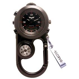 DAKOTA (ダコタ) カラビナウォッチ AnglerII BATMAN バットマン 「ダークナイト」 コラボ限定モデル 「バットマン」 DWC-4001BT 方位計 温度計 LEDライトつき