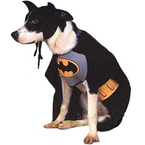 犬服 バットマン スーツ なりきり バットマン コスプレ バットマン & ロビン Mr.フリーズの逆襲 グッズ ペット Sサイズ [並行輸入品]