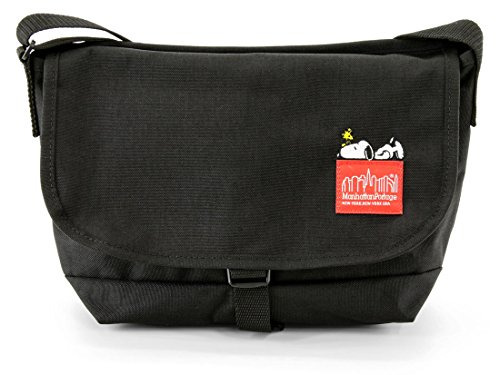 (マンハッタンポーテージ) Manhattan Portage × PEANUTS Limited Edition 2017 Casual Messenger Bag (S) MP1605JRSSNPY17 Black