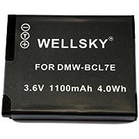 [WELLSKY] Panasonic パナソニック DMW-BCL7 互換バッテリー [ 純正充電器で充電可能 残量表示可能 純正品と同じよう使用可能 ] LUMIX ルミックス DMC-SZ8 / DMC-SZ9 / DMC-SZ3 / DMC-XS1/ DMC-FH10 / DMC-XS3 / DMC-SZ10