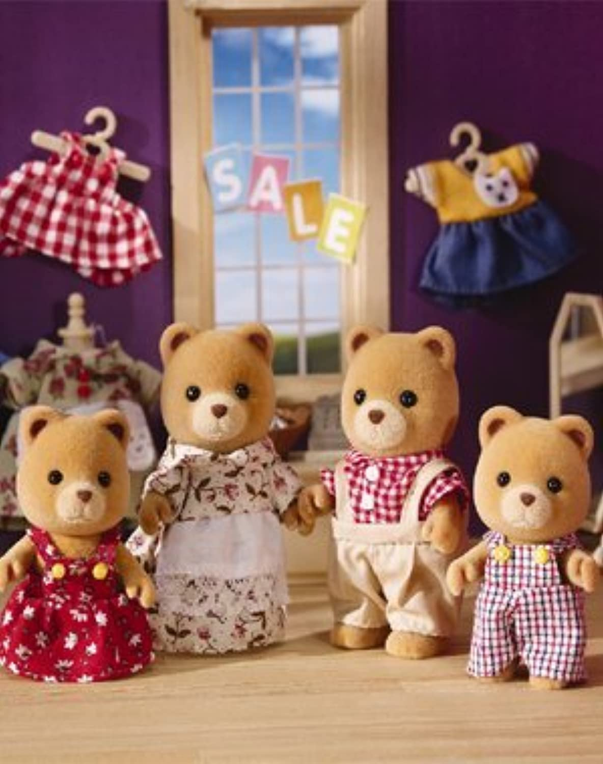 Calico Critters Sugar Bear Family by Calico Critters [並行輸入品]