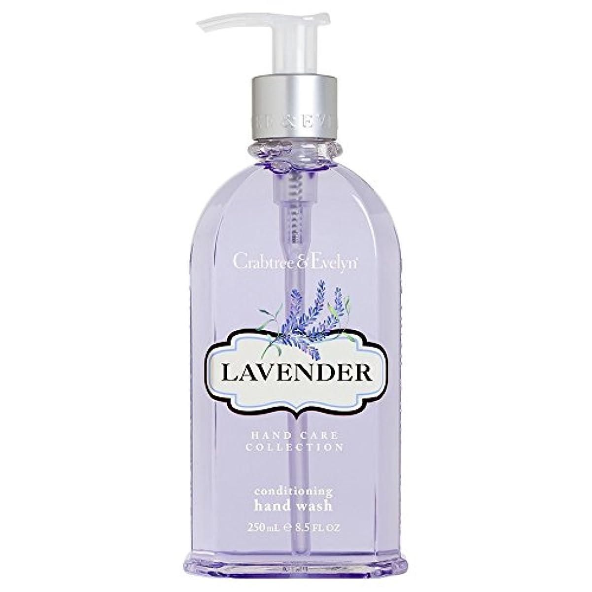アピール実質的打たれたトラッククラブツリー&イヴリンラベンダーコンディショナーハンドウォッシュ250ミリリットル (Crabtree & Evelyn) - Crabtree & Evelyn Lavender Conditioning Hand Wash...