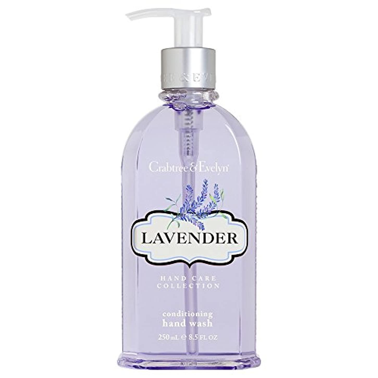 シャワー手数料の中でクラブツリー&イヴリンラベンダーコンディショナーハンドウォッシュ250ミリリットル (Crabtree & Evelyn) - Crabtree & Evelyn Lavender Conditioning Hand Wash...