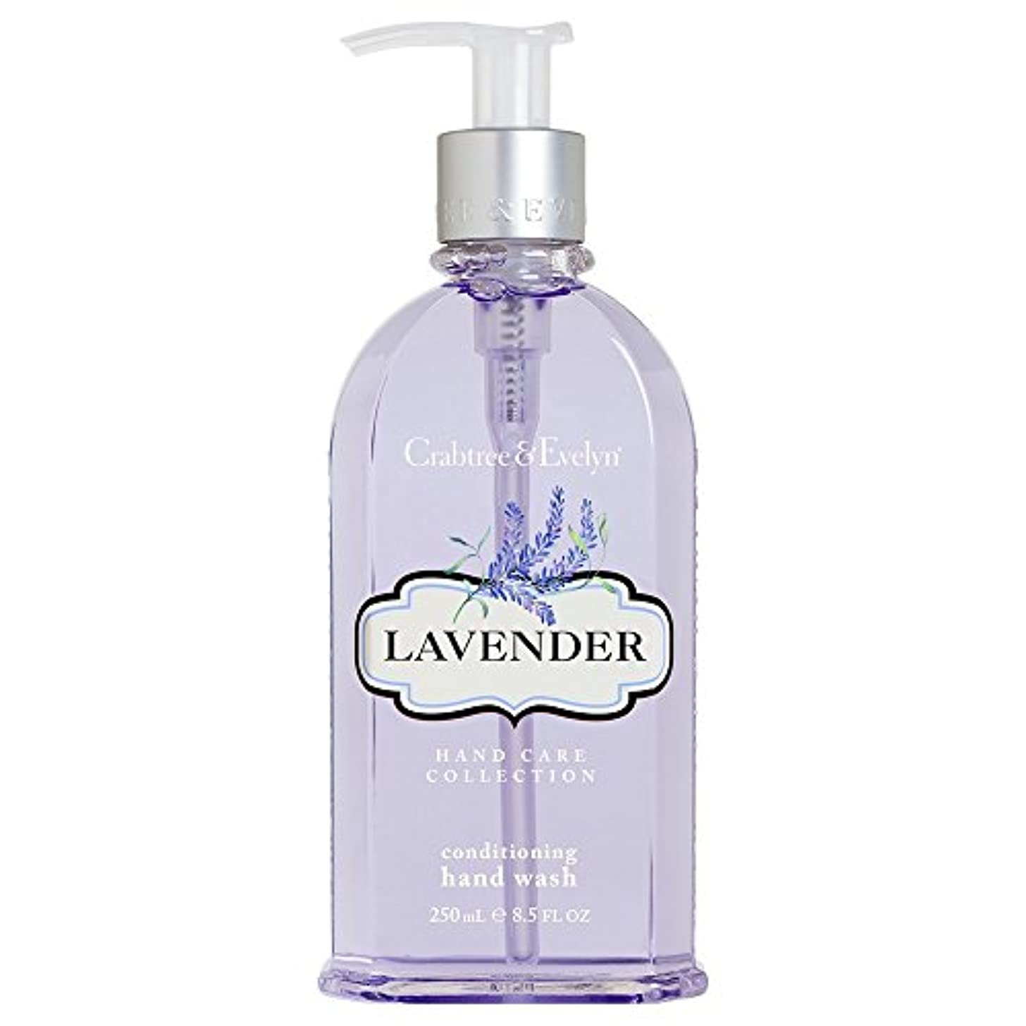 クラブツリー&イヴリンラベンダーコンディショナーハンドウォッシュ250ミリリットル (Crabtree & Evelyn) (x2) - Crabtree & Evelyn Lavender Conditioning Hand...