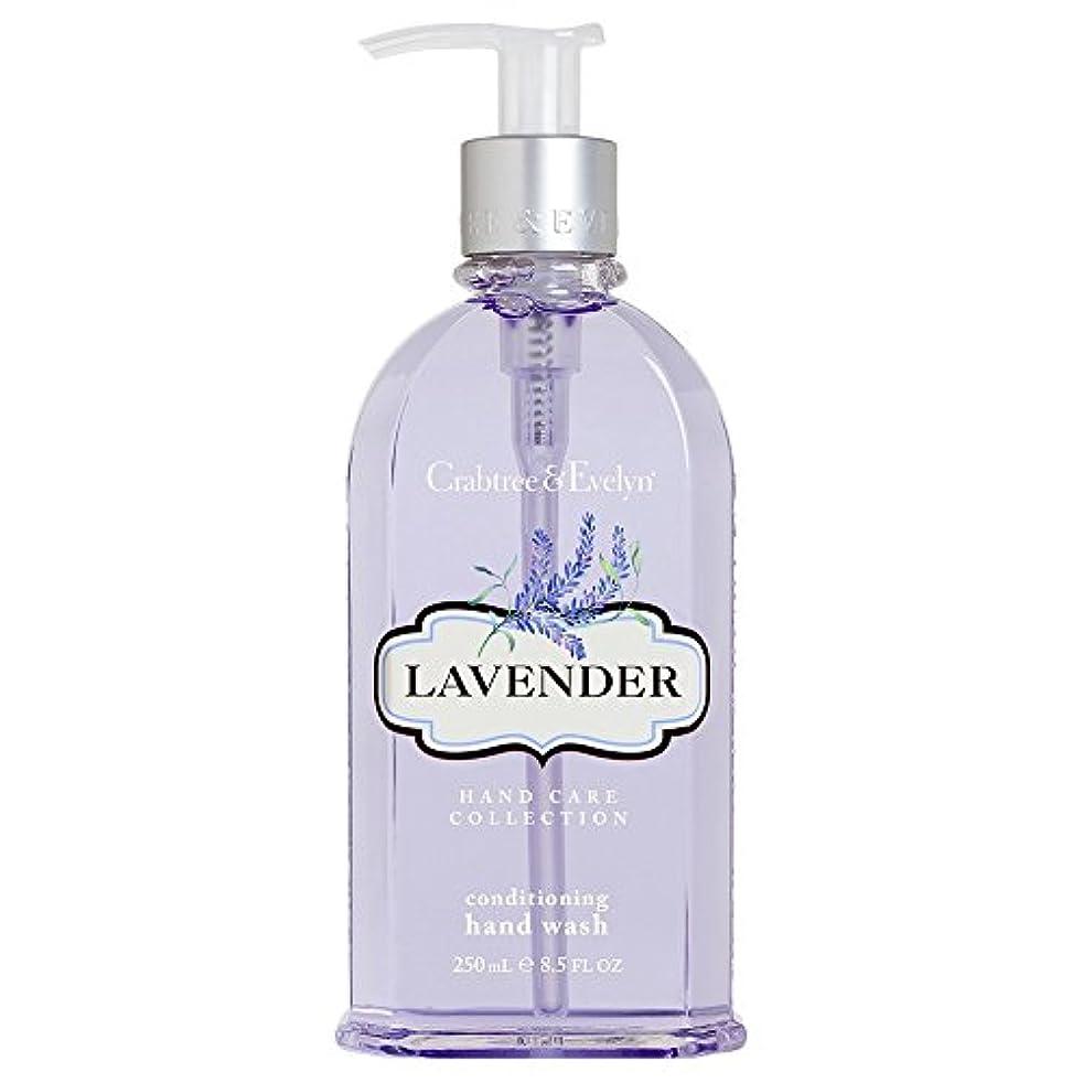 装置引退する限りなくクラブツリー&イヴリンラベンダーコンディショナーハンドウォッシュ250ミリリットル (Crabtree & Evelyn) - Crabtree & Evelyn Lavender Conditioning Hand Wash...