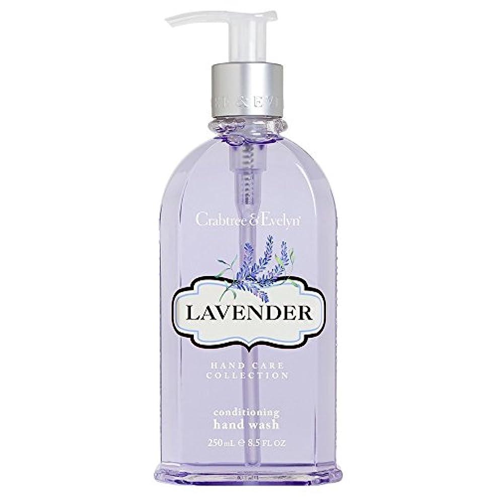 ドラゴンたとえ病クラブツリー&イヴリンラベンダーコンディショナーハンドウォッシュ250ミリリットル (Crabtree & Evelyn) (x6) - Crabtree & Evelyn Lavender Conditioning Hand...