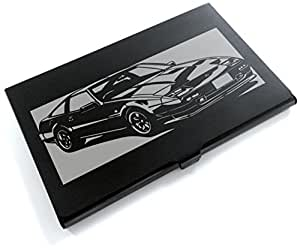 ブラックアルマイト「日産(NISSAN) フェアレディZ XR2 」切り絵デザインのカードケース[CC-082]