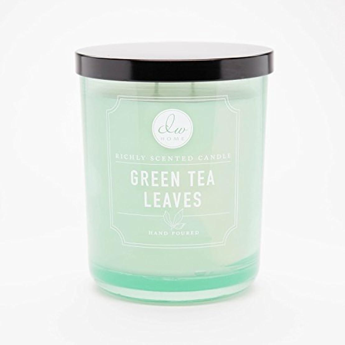 肉腫合理的パネルGreen Tea Leaves Richly Scented Candle Small Single Wick Hand Poured From Dw