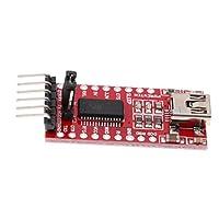 H HILABEE 1パック FT232RLシリアルアダプタモジュール ミニポート U TTL 3.3V 5.5V板