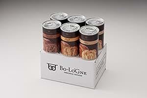 デニッシュパンの缶詰【缶deボローニャ】6缶セット(プレーン・メープル・チョコ各2缶)白箱入り