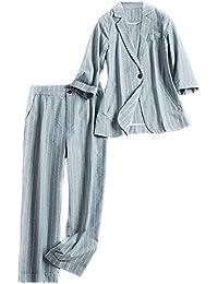 レディーススーツ セットアップ 長袖スーツ ボーダー柄 レディースパンツ おしゃれ 通勤 上品 素敵