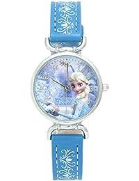 [コスミック]COSMIC Disney(ディズニー) 腕時計 アナと雪の女王 FROZEN エルサ キュートリングウォッチ ブルー WW14076-SB ガールズ 【正規輸入品】