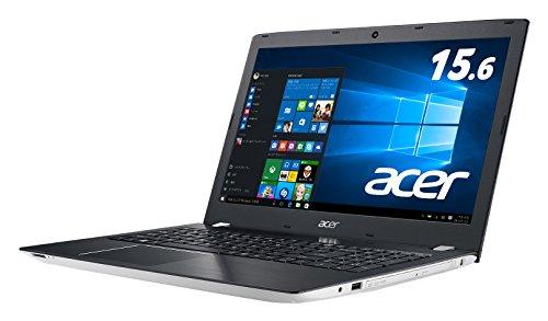 Acer Aspire E 15 (Core i5-6200U/4GB/1TB/Sマルチ/15.6/Windows10 Home(64bit)/APなし/マーブルホワイト) E5-575-N54G/W
