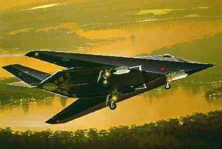 イタレリ 829 1/48 ロッキード F-117A ナイトホーク