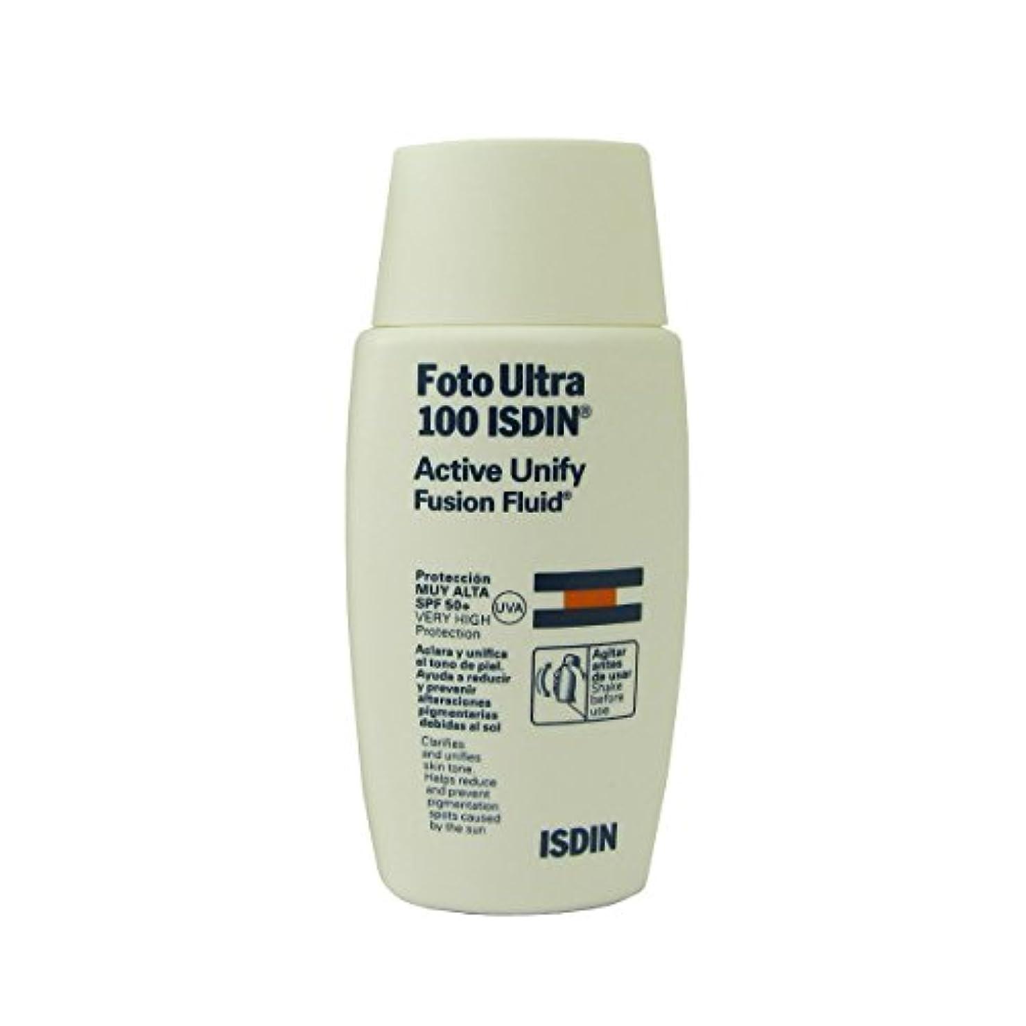 Isdin Foto Ultra 100 Active Unify Fusion Fluid 50ml [並行輸入品]