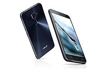 ASUS ZenFone 3 ZE520KL 4G/64G SIMフリー ブラック-Black 4G LTE (5.2inch/Full HD/Android 6.0/Qualcomm Snapdragon 625/2.0Ghz) [並行輸入品]