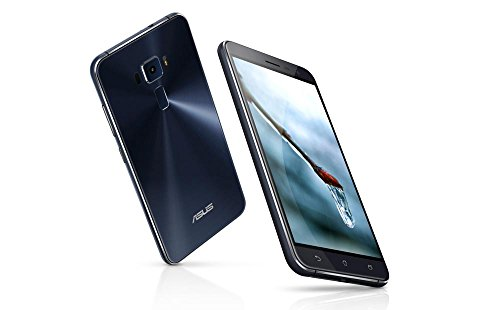ASUS ZenFone 3 ZE520KL 4G/64G SIMフリー ブラック-Black 4G LTE (5.2inch/Full HD/Android 6.0/Qualcomm ...