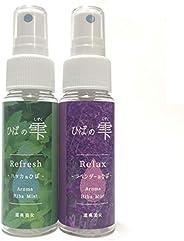 ひばの雫 青森ひばアロマスプレー 2種類(ハッカ&ラベンダー)セット 50ml×2本
