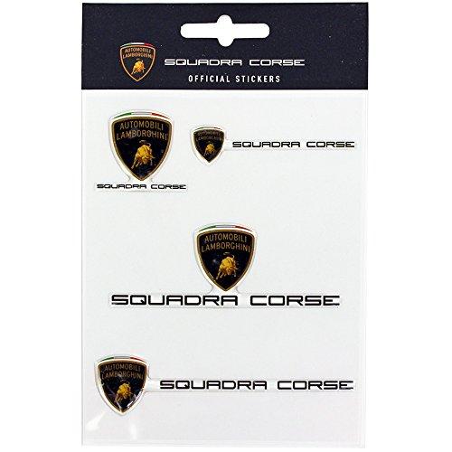 (ランボルギーニ) Lamborghini Squadra Corse ステッカーセット