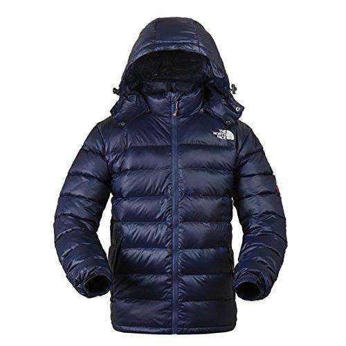(ザ・ノース・フェイス)THE NORTH FACE 冬メンズ コート・ジャケット (900ブルー, S)