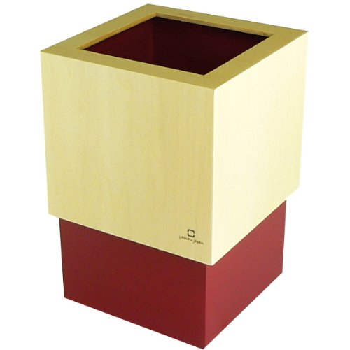 W CUBE ダストボックス DUSTBOX 赤色 YK06-012Rd <34268>