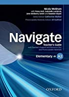 Navigate: Elementary A2: Teacher's Guide with Teacher's Support and Resource Disc by Unknown(2015-04-30)