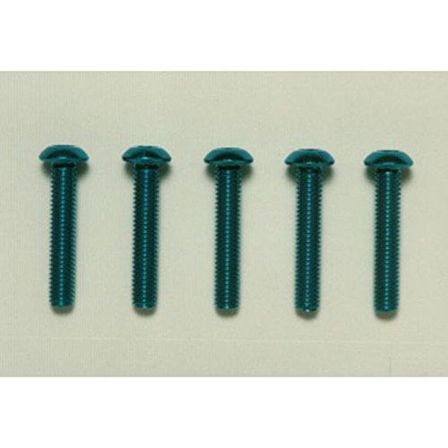 HOP-UP OPTIONS OP-770 3x16 6角ボタンヘッドビス ブルー/5