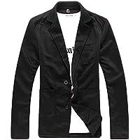 [サン ブローゼ] テーラード ジャケット アウター 長袖 2つボタン カジュアル ニット M~XL