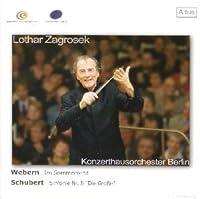 ウェーベルン:大管弦楽のための牧歌「夏の風の中で」、シューベルト:交響曲第8番「ザ・グレイト」